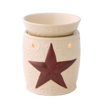 Rustic Star Scentsy Warmer DELUXE