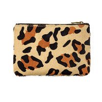 Status Anxiety - Maud Wallet - Leopard