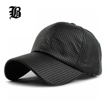Trendy Winter Jacket [FLB]  Hot PU Black Baseball Cap Women Fall Leather Cap Trucker Cap Fitted Snapback Hats For Men Winter Hat For Women AT_92_12