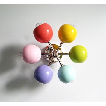 Pastel Arco wall sconce or ceiling fixture
