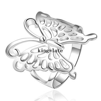 Unisex Beautiful Butterfly Ring