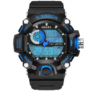 New listing fashion watches men watch waterproof sport military G style S Shock watches men's luxury brand