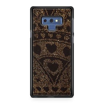 Asos Leggings In Glitter Heart Samsung Galaxy Note 9 Case | Casefruits