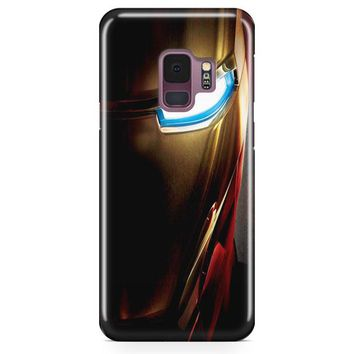 Iron Man 3 Face Samsung Galaxy S9 Case | Casefantasy