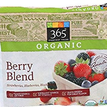365 Everyday Value, Organic Berry Blend, 10 oz, (Frozen)