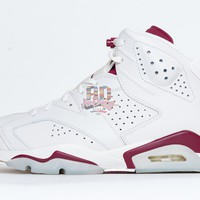 "Air Jordan Retro 6 VI ""Maroon"""