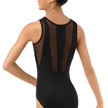 Tank Leotard With Mesh Back Panels | Balera™