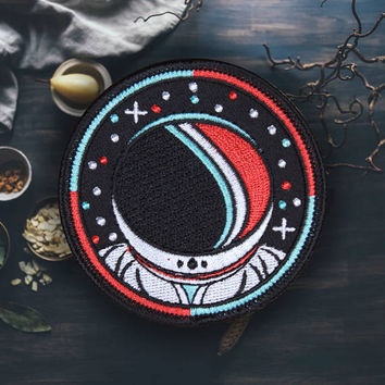 "Space Astronaut Patch | Sew On | Embroidered | Patches for Jackets | 2.75"" (Free Shipping US)"