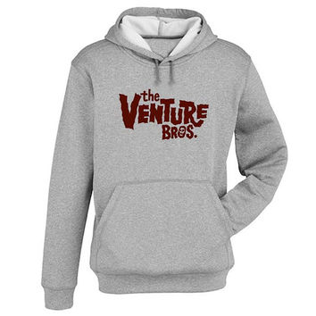 the venture bros Hoodie Sweatshirt Sweater Shirt Gray and beauty variant color for Unisex size