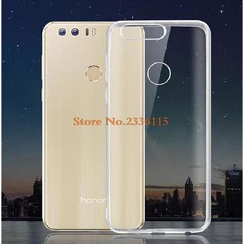 Transparent ultra thin soft TPU Case for Huawei Ascend P7 P8 P9 P10 Lite G7/Mate s 7 8 9 /Honor 4 4X 4C 5X 6 plus 7 8 nova cover