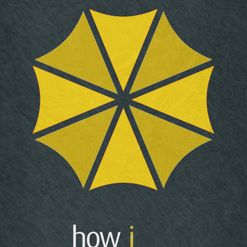 How I Met Your Mother - Minimalist Poster 01 Art Print by Misery
