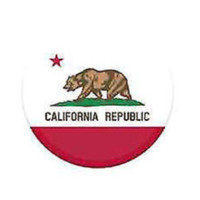 Republic of California Bear generic Pop socket style Round Expanding Phone Holder
