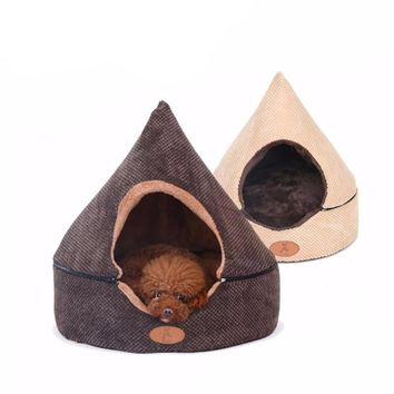 Dog Tent House Bed - 2 Colors