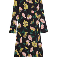 Marni - Floral-print crepe shirt dress