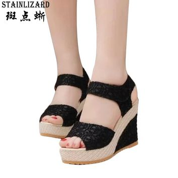 Bohemia Platform Sandals Women Casual Fashion Wedge Gladiator Sexy Female Sandals Boho Girls Summer Women Shoes BT570