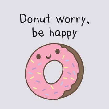 Donut Worry, Be Happy - Tank Top (Women's)
