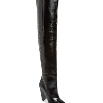 Saint Laurent Niki Over the Knee Boot (Women) | Nordstrom