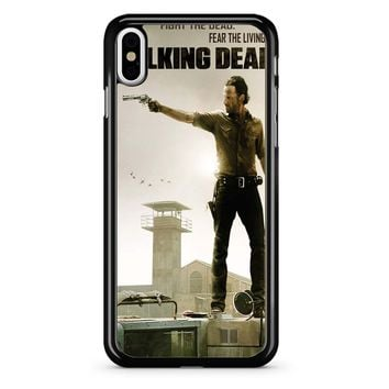 The Walking Dead Rick iPhone X Case