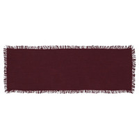Tobacco Cloth Merlot Table Runners