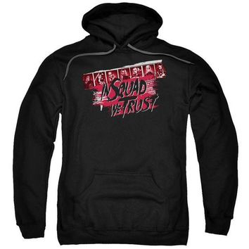 ac spbest Suicide Squad - In Squad We Trust Adult Pull Over Hoodie