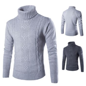 Mens Trendy Turtleneck Sweater