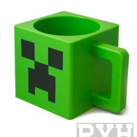 Minecraft Creeper Face Green Mug