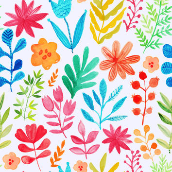 Neon Spring Removable Wallpaper Decal