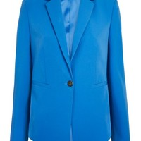 Strong Shoulder Suit Jacket - Clothing