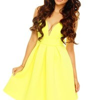 It's Electric Dress - Yellow