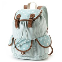 Candie's Striped Backpack