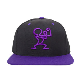 READY SNAPBACK - Black & Purple