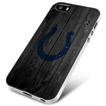 Indy Colts (wood) iPhone 5 | 5S | 5SE Case Planetscase.com