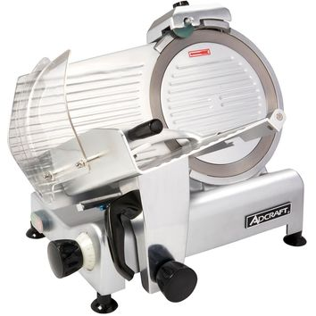 "Admiral Craft SL300ES Commercial Light Duty Slicer 1/3 Horsepower 12"" Blade"