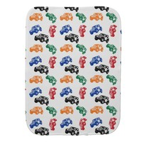 Baby colorful JEEP burp cloth