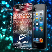 Nike Just Do It Aztec Space Samsung Galaxy S2/ S3/ S4 case, iphone 4/4S case, iphone 5/ 5s/ 5c case, ipod 4 case, ipod 5 case