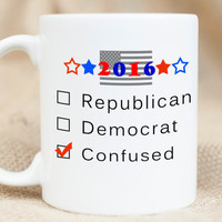 2016 Presidential Election Mug - Democrat Mug - Republican Mug