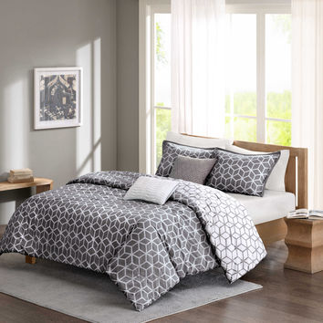 Madison Park Pure Alexa 5-Piece Reversible Comforter Set