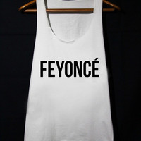 FEYONCE Feyoncé Shirt Fiance loose fit Tank Top populer tanktop for mens and women made by USA