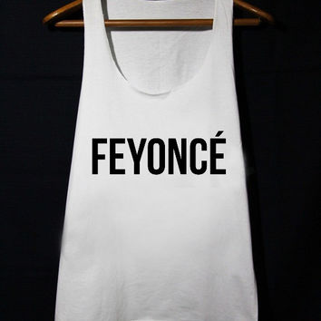 f7ea8875 FEYONCE Feyoncé Shirt Fiance loose fit Tank Top populer tanktop for mens  and women made by