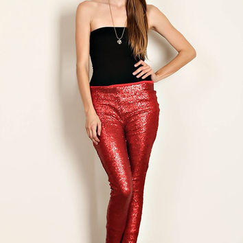 Sequin Leggings - 3 colors!