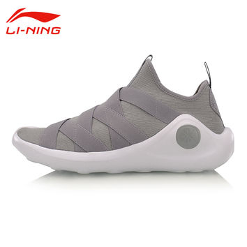 Li-Ning Men's Wade Light Basketball Culture Shoes Wearable Breathable Sneakers LiNing Samurai III Slip- On Sports Shoes  ABCM009