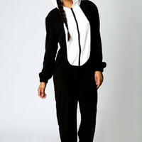 Cameron Panda Super Soft Animal Onesuit