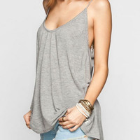 Strappy Slotted Back Camisole B005709