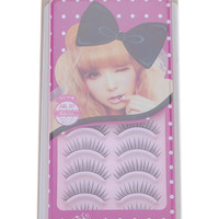 ROMWE | 10 Pair Natural False Eyelashes Eye Lash Makeup 068, The Latest Street Fashion