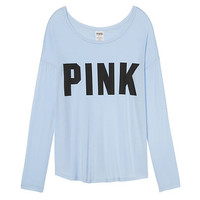 Super Soft High/Low Tee - PINK - Victoria's Secret