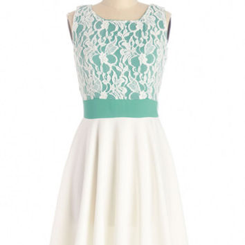 ModCloth Mid-length Sleeveless A-line Groove You Right Dress