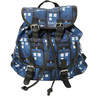 Doctor Who TARDIS Medium Slouch Backpack