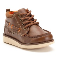 OshKosh B'gosh Howie Toddler Boys' Lace-Up Boots (Brown)