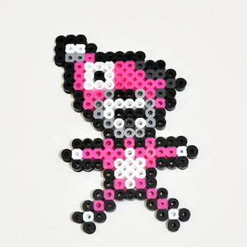 Breaking Bead Pink Teddy Bear Magnet