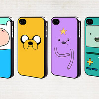 Adventure time iPhone 5 case, iPhone 5C, iPhone 4s case, iPhone 4 cover, iPod Touch 5 cover